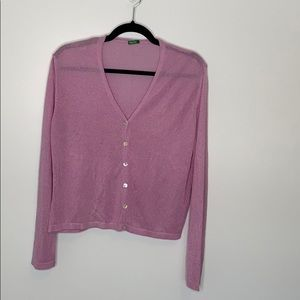 United Colors Of Benetton button down cardigan M